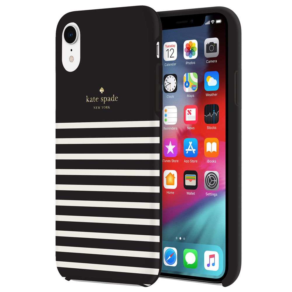 Kate Spade étui Feeder Stripe pour iPhone, Extras | Nomade.mobi