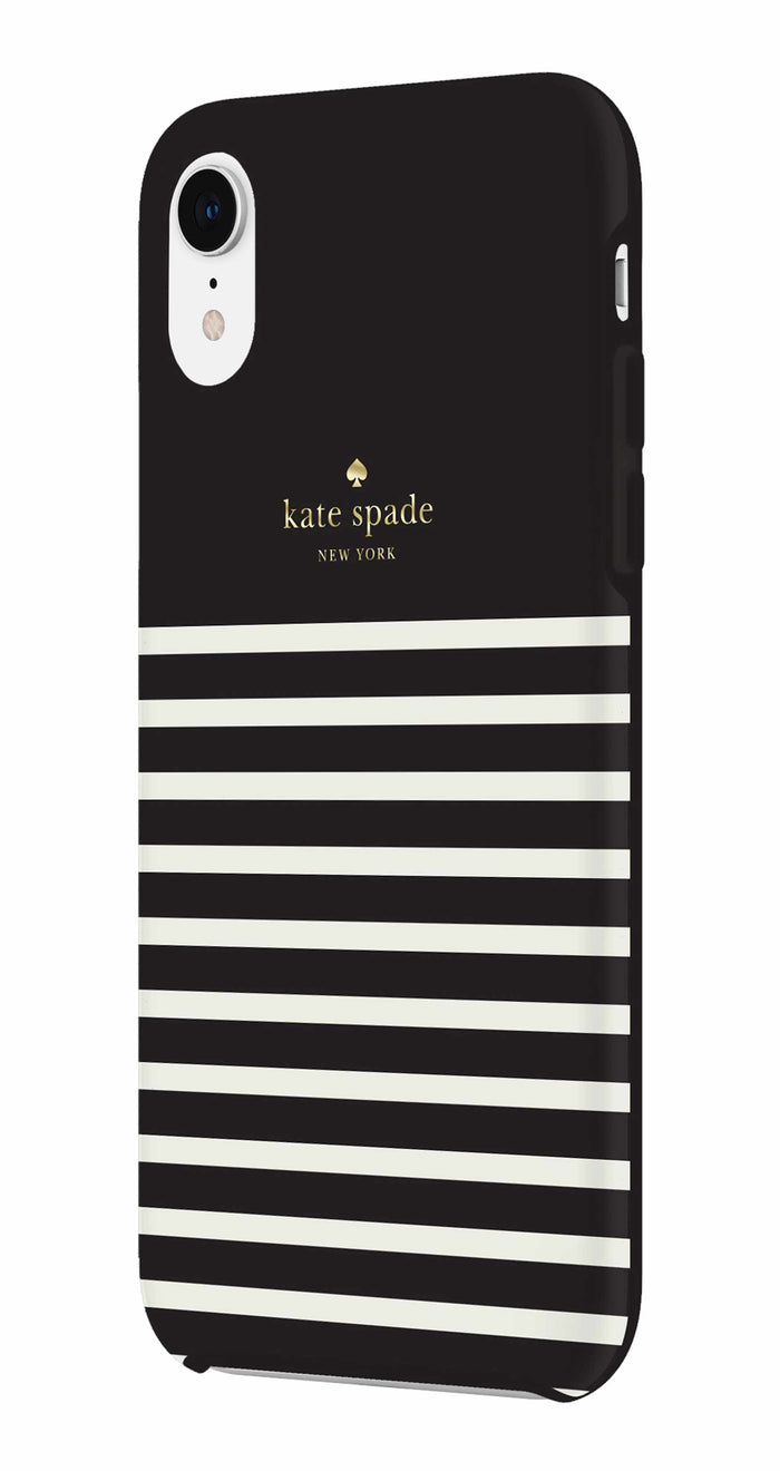 Kate Spade étui Feeder Stripe pour iPhone