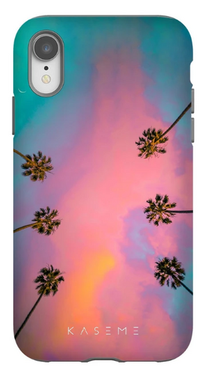 KaseMe Étui ''Tough'' California Palms par Jay Croft pour iPhone
