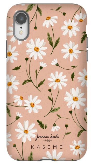 KaseMe Étui ''Tough''  Daisy Dream par Joannie Houle pour iPhone