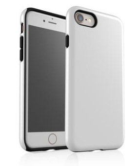 KaseMe Étui ''Tough''  Latte pour iPhone, Extras | Nomade.mobi