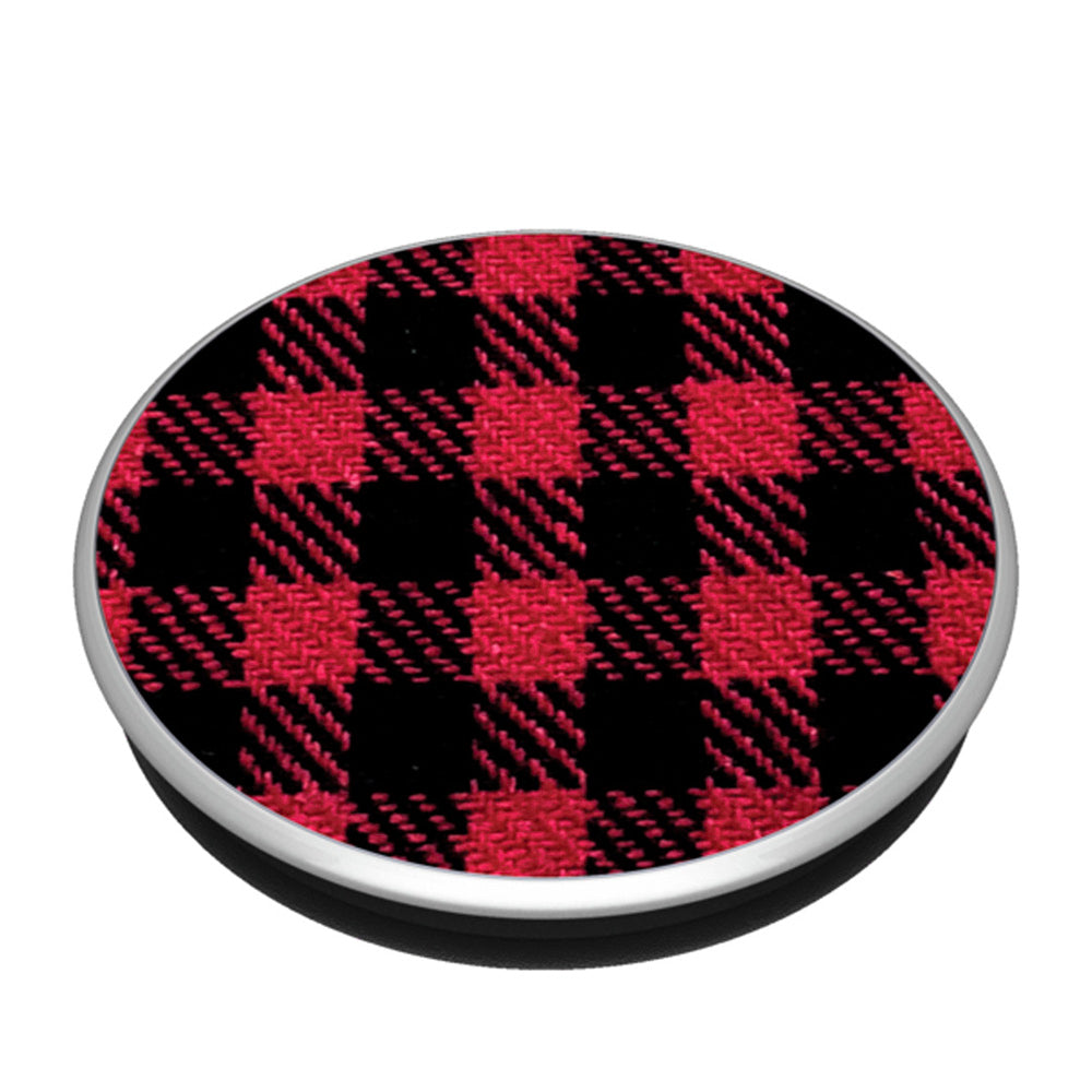 PopSockets - PopGrip (complet et interchangeable) Classic Red Check