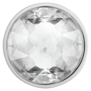 PopSockets - PopGrip (complet et interchangeable) Disco Crystal Argent