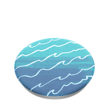 PopSockets - PopTop (top seulement et interchangeable) Blue Tidal Wave, [product_type] | Nomade.mobi
