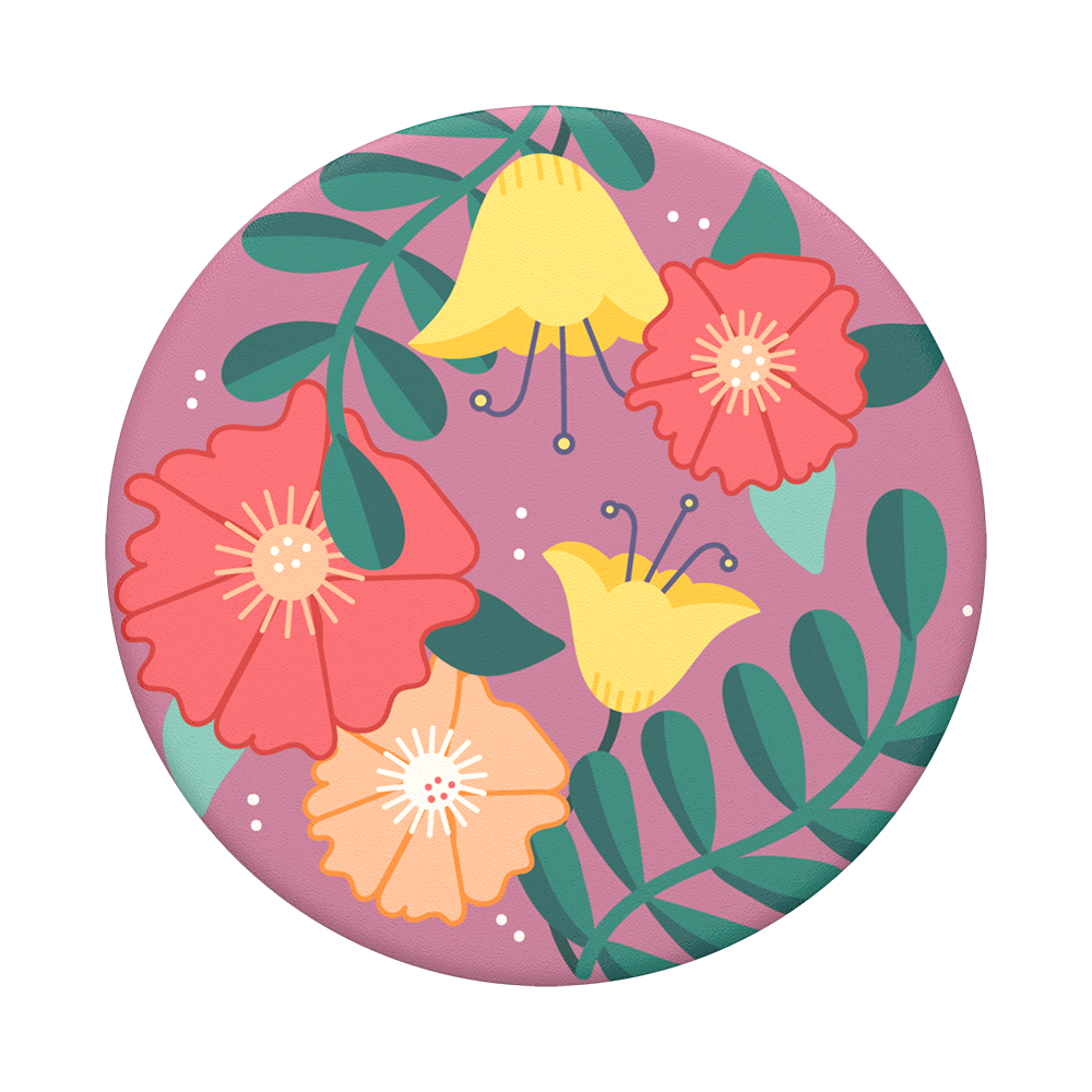 PopSockets - PopTop (top seulement et interchangeable) Folk Floral, [product_type] | Nomade.mobi