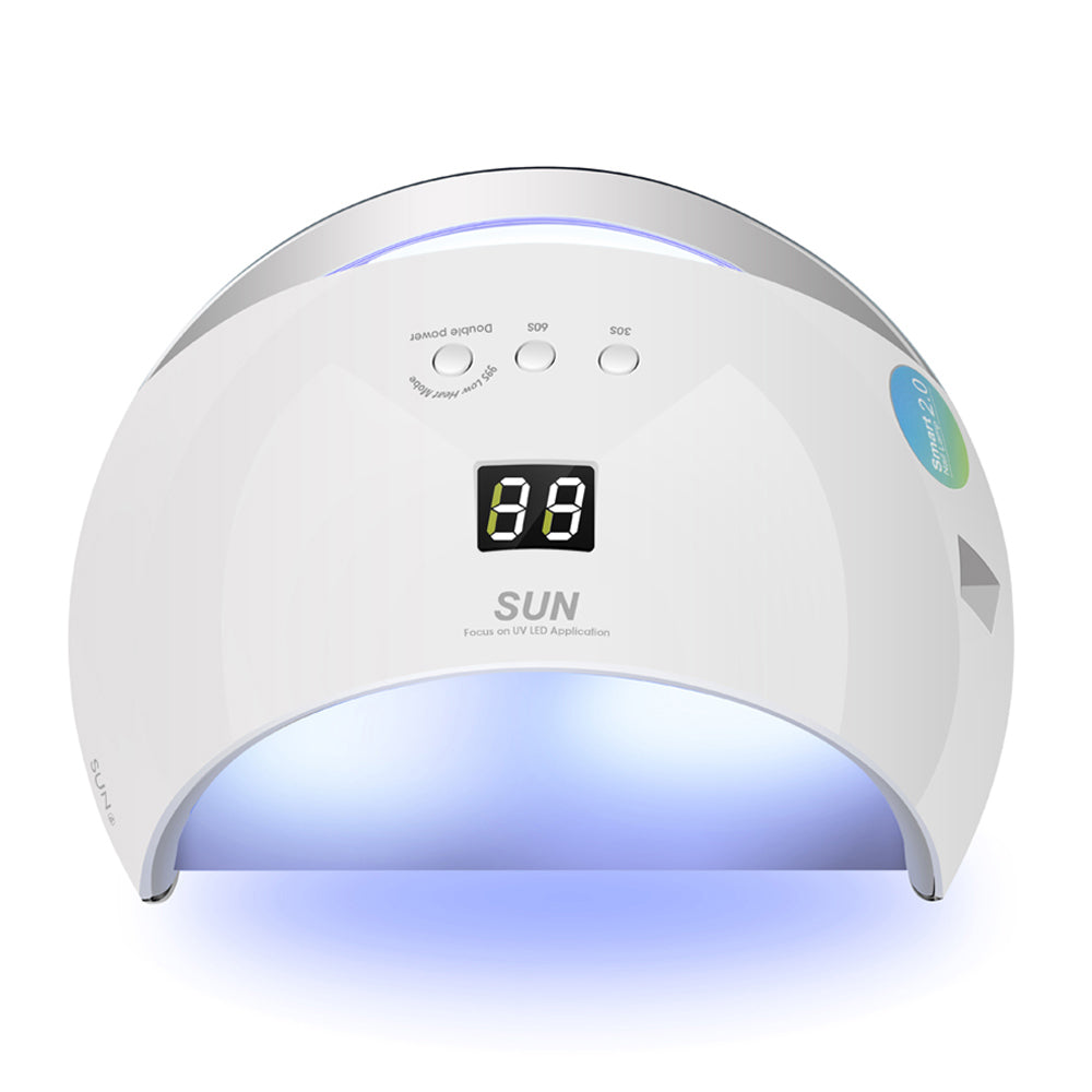 Nails Art & Tools Beauty & Health 48w Uv Nail Lamp Dryer Cure Led Gels Polish Nail Art Tools Lcd Timer Touch Button Double Light Auto Sensor Dryer Light Machine