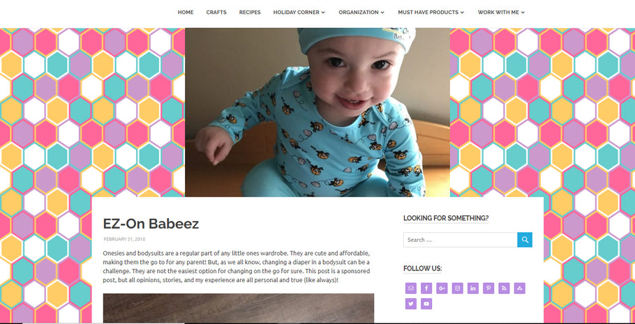 Woman of Many Roles Blogs About Our EZ-On BaBeez