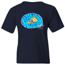 Load image into Gallery viewer, EZ-On BaBeez™ - Mom and Baby Collection - Marine Life Series, Clownfish - Youth T-Shirt