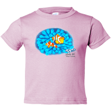 Load image into Gallery viewer, Toddler Tee, Mom and Baby Collection - Marine Life Series, Clownfish