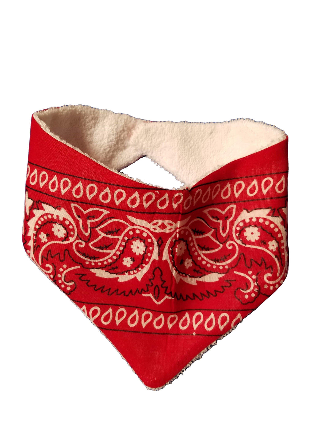 EZ-On BaBeez™ - Accessories - Kerchief - Red Bandana - Bib