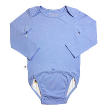 Load image into Gallery viewer, EZ-On BaBeez™ Baby Bodysuit - Bluebell - Long Sleeve