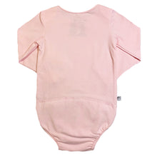 Load image into Gallery viewer, EZ-On BaBeez™ Long Sleeve Bodysuit Pink Blush