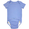 EZ-On BaBeez™ Short-Sleeve Bodysuit Blue Bell