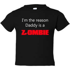 EZ-On BaBeez™ T-Shirt - Halloween Collection - Daddy is a Zombie - Toddler Tee