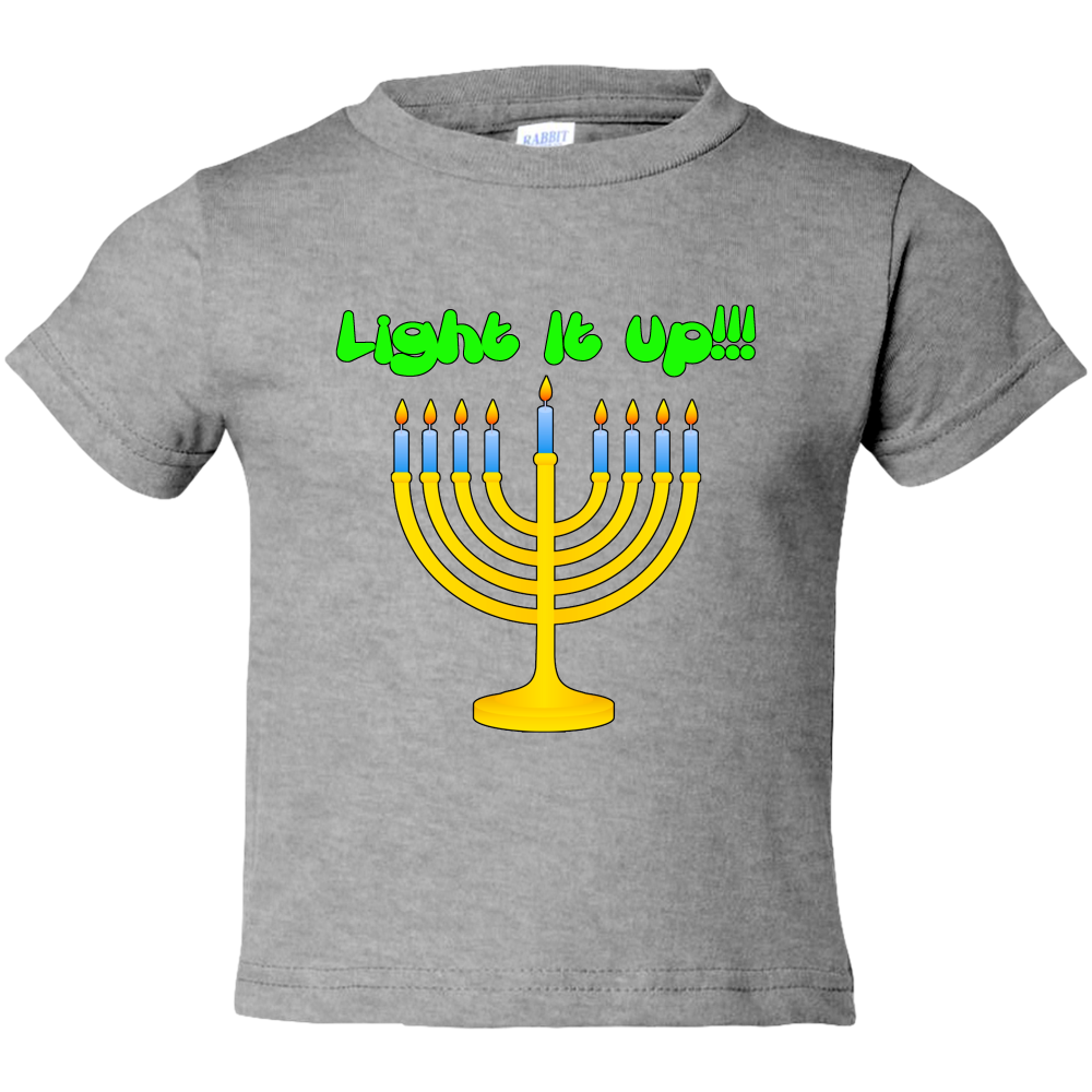 Toddler Tees- Hanukkah