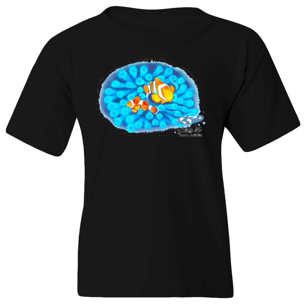Youth Tee, Mom and Baby Collection - Marine Life Series, Clownfish