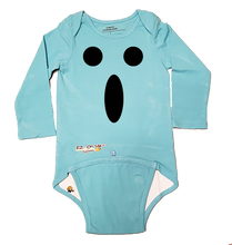 Load image into Gallery viewer, EZ-On BaBeez™ Baby Bodysuit - Halloween - Ghost Face - Long Sleeve