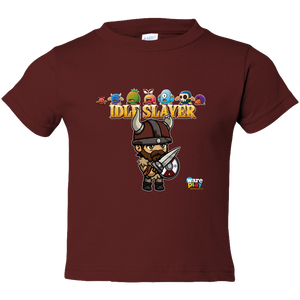 EZ-On BaBeez™ - WarePlay - Idle Slayer Leif with Villans - Toddler T-Shirt