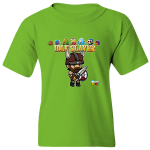 EZ-On BaBeez™ - WarePlay - Idle Slayer Leif with Villains - Youth T-Shirt