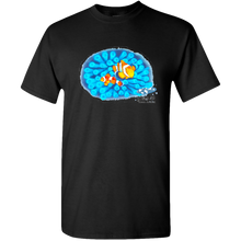 Load image into Gallery viewer, Adult Unisex Standard Tee, Mom and Baby Collection - Marine Life Series, Clownfish