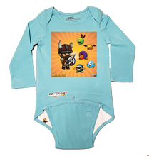 Load image into Gallery viewer, EZ-On BaBeez™ - WarePlay - Idle Slayer - Baby Bodysuit - Long Sleeve