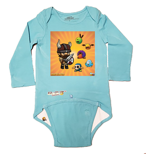 EZ-On BaBeez™ - WarePlay - Idle Slayer - Baby Bodysuit - Long Sleeve