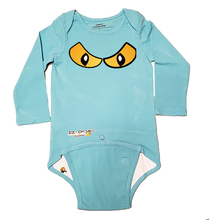 Load image into Gallery viewer, EZ-On BaBeez™ Halloween Collection - Spooky Eyes - Baby Bodysuit - Long Sleeve