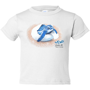 EZ-On BaBeez™ - Mom and Baby Collection - Marine Life Series, Baby Sea Turtle - Toddler T-Shirt