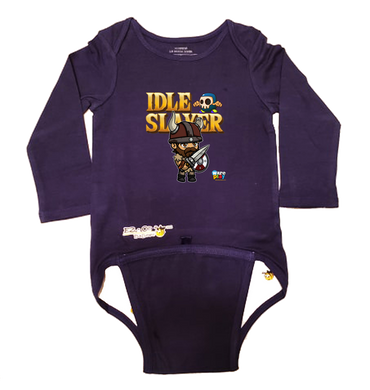 EZ-On BaBeez™ - WarePlay - Idle Slayer Leif - Baby Bodysuit, Long Sleeve