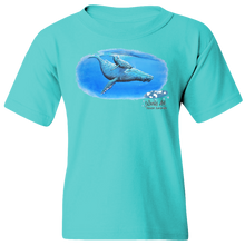 Load image into Gallery viewer, Youth Tee, Mom and Baby Collection - Marine Life Series, Humpback Whales