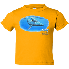 Load image into Gallery viewer, EZ-On BaBeez™ - Mom and Baby Collection - Marine Life Series, Humpback Whales - Toddler T-Shirt