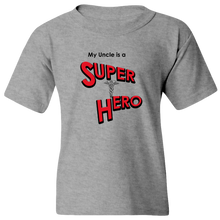 Load image into Gallery viewer, EZ-On BaBeez™ T-Shirt - My Uncle is a Super Hero - Doctor, Youth Tee
