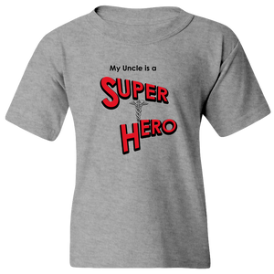 """My Uncle is a Super Hero"" - Doctor, Youth Tee"