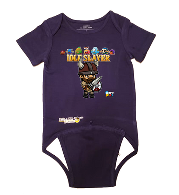 EZ-On BaBeez™ - WarePlay - Idle Slayer Villans - Baby Bodysuit, Short Sleeve