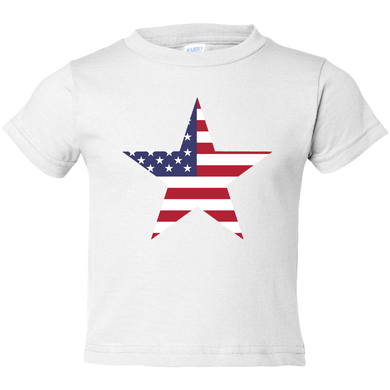 EZ-On BaBeez™ T-Shirt - Americana Collection - Stars and Stripes - Toddler Tee