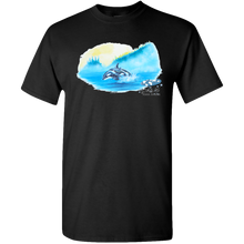 Load image into Gallery viewer, Adult Unisex Standard Tee, Mom and Baby Collection - Marine Life Series, Orcas