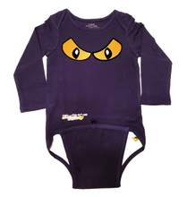 Load image into Gallery viewer, EZ-On BaBeez™ Baby Bodysuit - Halloween - Spooky Eyes - Long Sleeve