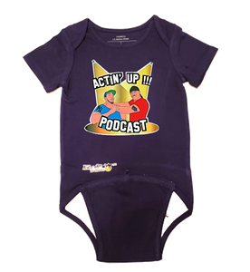 Actin' Up EZ-On BaBeez™ Baby Bodysuit - Short Sleeve