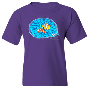 EZ-On BaBeez™ - Mom and Baby Collection - Marine Life Series, Clownfish - Youth T-Shirt