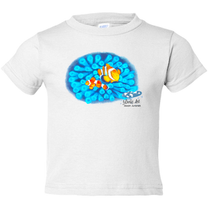 Toddler Tee, Mom and Baby Collection - Marine Life Series, Clownfish
