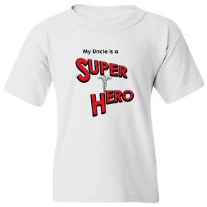 EZ-On BaBeez™ T-Shirt - My Uncle is a Super Hero - Doctor, Youth Tee