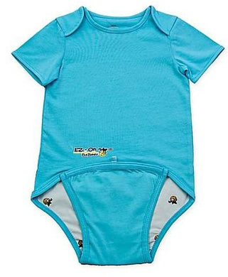 EZ-On BaBeez™ - Spring & Summer - Aqua - Baby Bodysuit