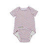 EZ-On BaBeez™ Red Dot Short-Sleeve Bodysuit