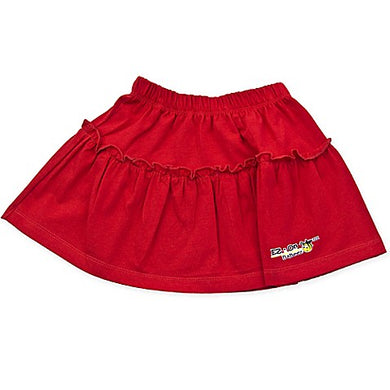 EZ-On BaBeez™ - Red - Ruffled Skirt