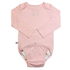 EZ-On BaBeez™ Long Sleeve Bodysuit Pink Blush