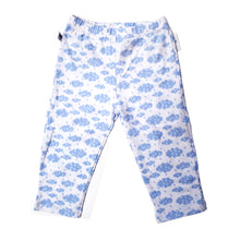 Load image into Gallery viewer, EZ-On BaBeez™ - Spring & Summer - Pull-On Pants, With or WIthout Footies - Rainy Day on White