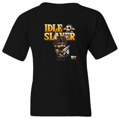 EZ-On BaBeez™ - WarePlay - Idle Slayer Leif - Youth T-Shirt