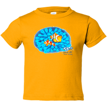 Load image into Gallery viewer, EZ-On BaBeez™ - Mom and Baby Collection - Marine Life Series, Clownfish - Toddler T-Shirt