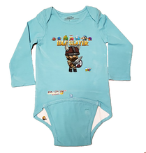Load image into Gallery viewer, EZ-On BaBeez™ - WarePlay - Idle Slayer Villans - Baby Bodysuit, Long Sleeve