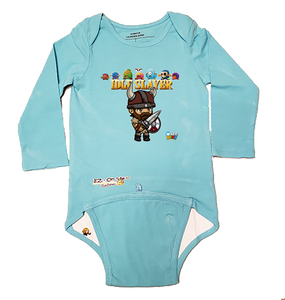 EZ-On BaBeez™ - WarePlay - Idle Slayer Villans - Baby Bodysuit, Long Sleeve